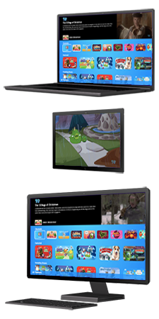 Windows PCs running ToonGoggles